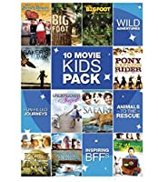 Kid's 10 Film Pack [DVD]