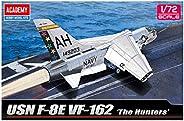 アカデミー 1/72 F-8E クルセイダー VF-162 ザ・ハンターズ プラモデル 12521