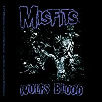 """MISFITS Wolf's Blood STICKER, Officially Licensed Products Classic Rock, 3.75"""" x 4"""" - Long Lasting Wolf S Sticker DECAL"""