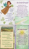 Irish Blessing Holy PrayerカードIncludes May The Road Rise Up 6異なる3by 5インチ