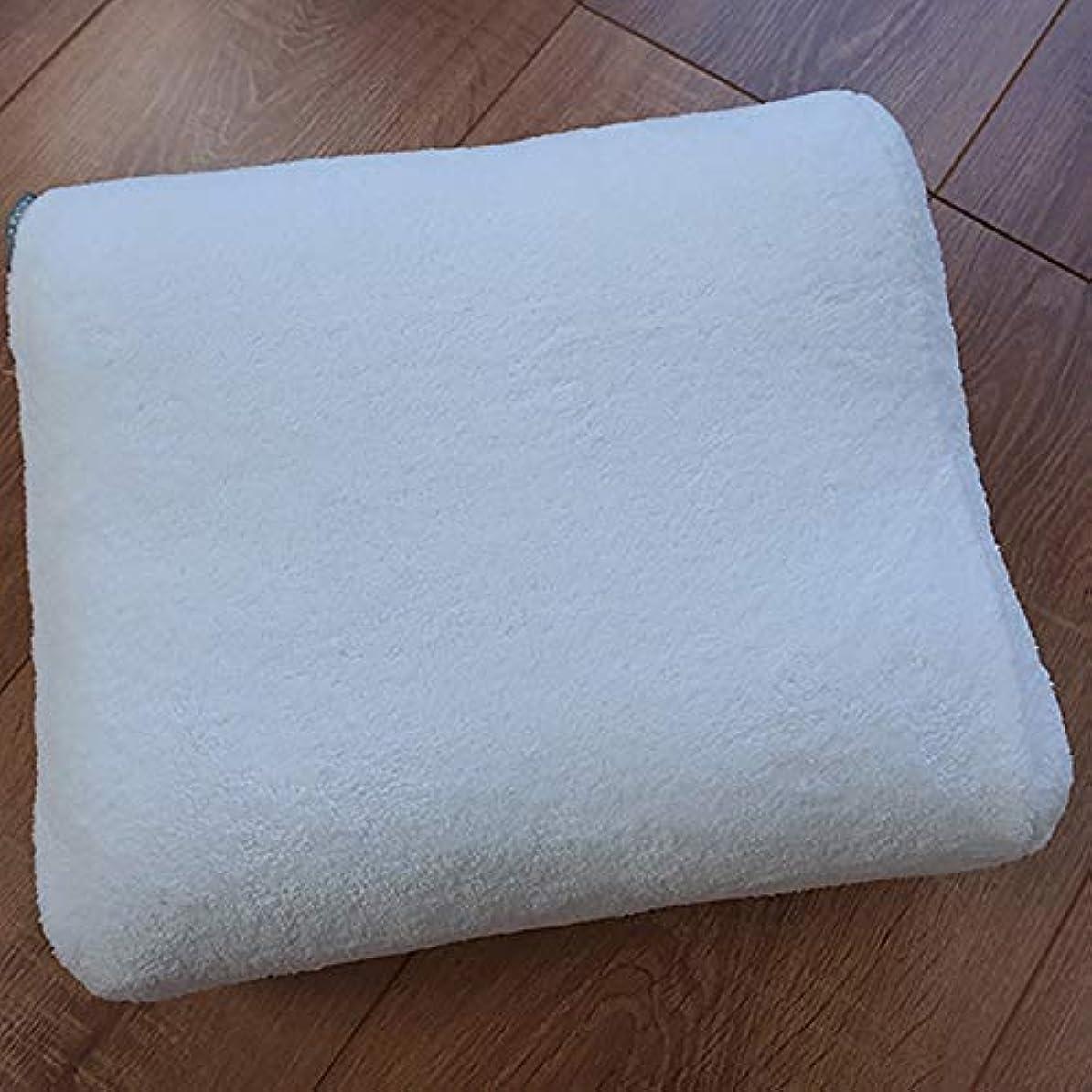 浴槽枕 吸盤の3Dユニバーサルノンスリップ赤ちゃんのお風呂の枕ヘッドレストクッションホテルのバスタブ枕 バスルーム枕 (色 : 白)