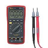デジタルマルチメーター RAGU 17Bマルチメーター 電圧/電流/ダイオード/連続測定 バックライトLCDスクリーン 自動レンジ可能 電子テスター 12ヶ月保証