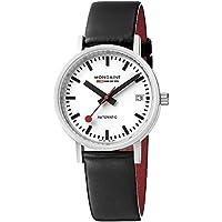 Mondaine Unisex A128.30008.16SBB Analog Display Swiss Automatic Black Watch