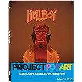 Hellboy 2016 POP ART STEELBOOK - UK Exclusive Limited Edition Steelbook Limted to 500 Units Blu-ray Region Free