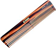 Kent 16T Fine Tooth Comb and Wide Tooth Comb Straightener Comb/Beard Comb and Hair Comb/Mens Hair Comb, Mustac