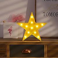 Kanodan LED イルミネーションライト【コンセント不要 お誕生日 ホームパーティー ウエディング 二次会飾り 照明 ライト デコレーション (星)