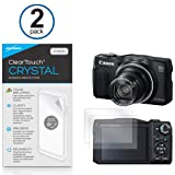 Canon PowerShot sx700 HS ClearTouchアンチグレア( 2 - Pack )とClearTouchクリスタル2パック – プレミアム品質スクリーンガードシー..