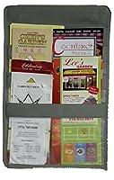 (Take-Out Menu Organiser, Gray) - LAMINET Take-Out Menu Organiser - GREY