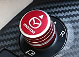 MAZDA マツダ アクセラ AXELA CX-5 用 ミラー ハンドル ガーニッシュ 赤 ドレスアップ
