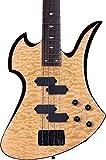 B.C. RICH Mk3B-MB4-QMP Mk3 Mockingbird Electric Bass Guitar Quilted Maple [並行輸入品]