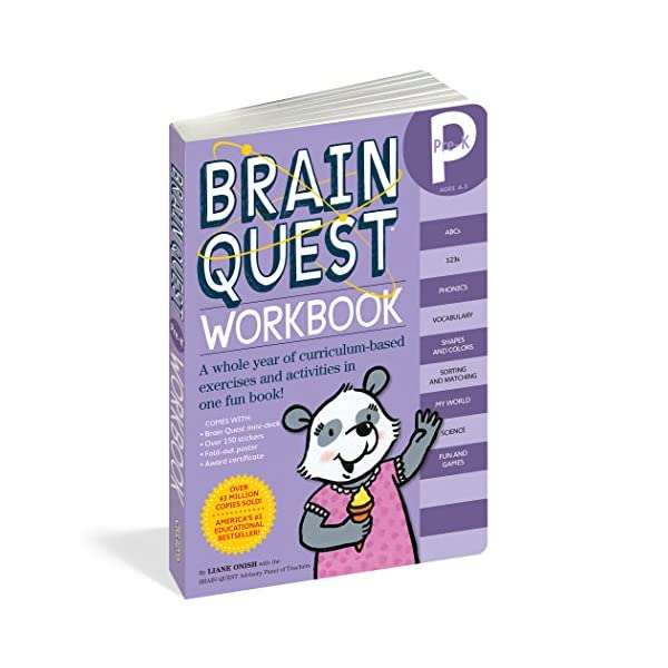 Brain Quest Workbook Pre-Kの商品画像