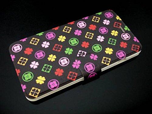 iPhone7 カード入れ 手帳型レザーケース ももいろクロ...