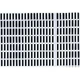 artek(アルテック) カットクロス 約75×50cm SIENA(シエナ) ホワイト×ブラック