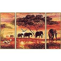 Schipper Elephant Caravan Paint-by-Number Kit by Schipper [並行輸入品]