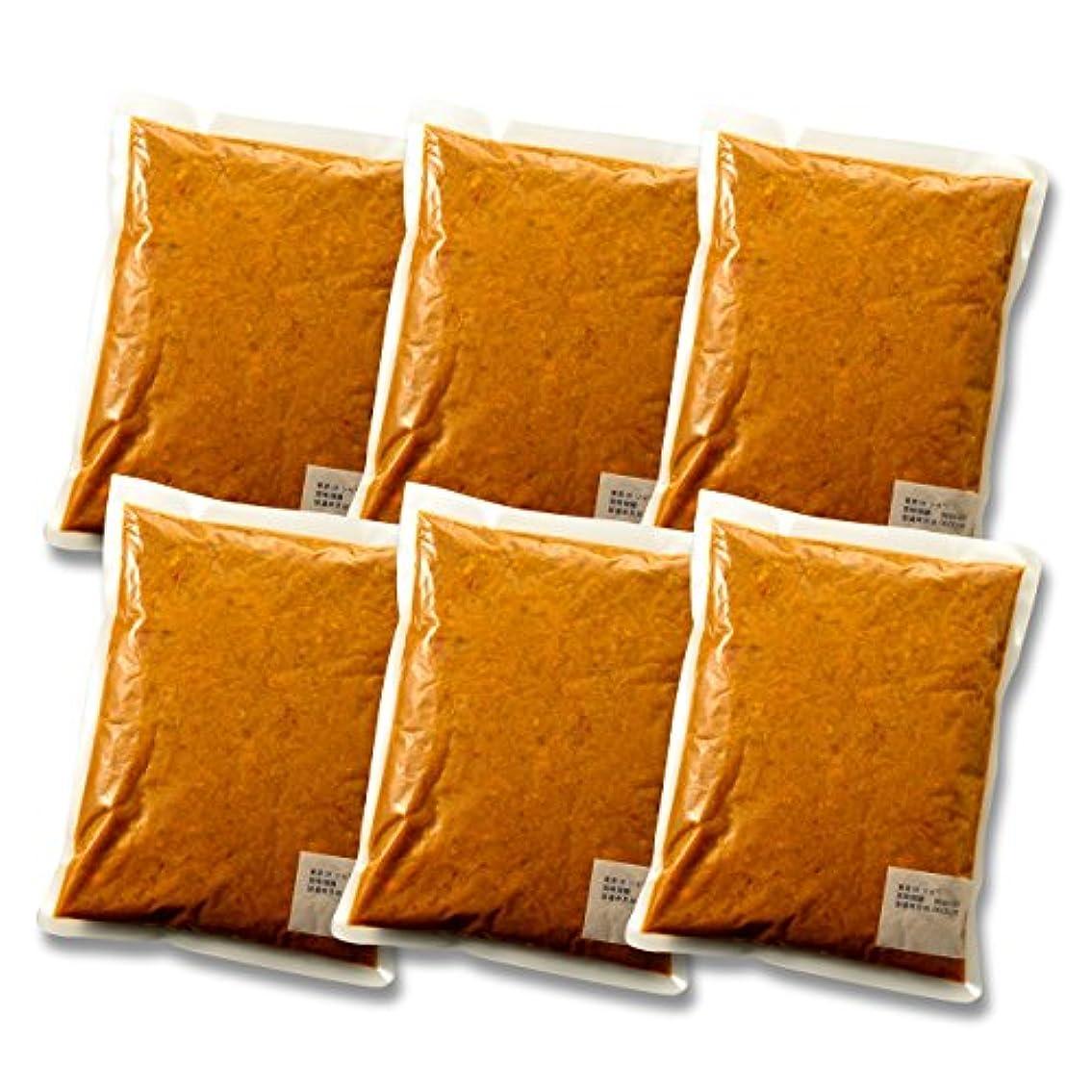 台風タクトうんざりロイヤル ジャワ風ビーフカレー(1kg×6袋)業務用冷凍パック