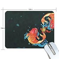 Anmumi マウスパッド 滑り止め 動物柄 魚 19×25cm ゲームに適用 かわいい オシャレ レディース メンズ 子供 ゴム 実用性 パソコン対応