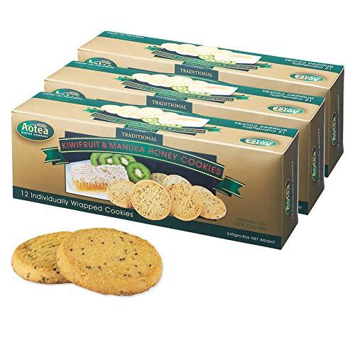 アオテア(Aotea ) キウイ&マヌカハニー クッキー 3箱セットa【ニュージーランド 海外土産 輸入食品 スイーツ】
