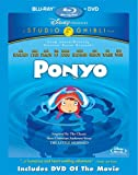 Ponyo (Two-Disc Blu-ray/DVD Combo) (2008) (崖の上のポニョ 北米版)