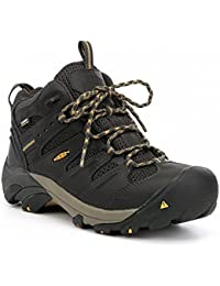(キーン) Keen メンズ シューズ?靴 ブーツ KEEN Utility Lansing Mid Waterproof Steel Toe Work Boots [並行輸入品]