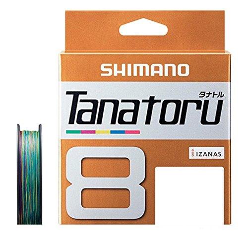 シマノ(SHIMANO) PEライン タナトル 8本編み 200m マルチカラー PL-F68R