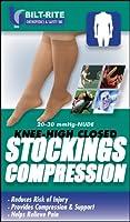 Bilt-Rite Mastex Health Knee High Stockings, Natural, 3X-Large by Bilt-Rite Mastex Health