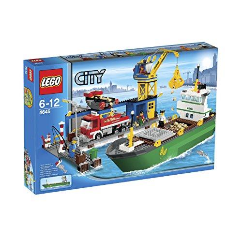 レゴ (LEGO) シティ コンテナ船とハーバー 4645
