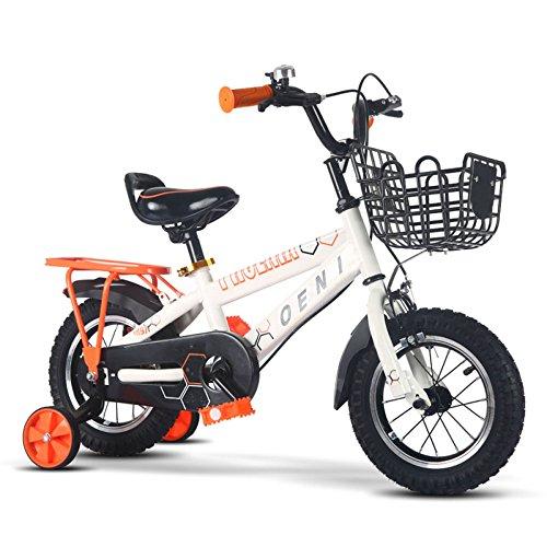 QXmEi子供の自転車高炭素スチールフレーム2–3- ...