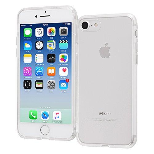 レイ・アウト iPhone8 / iPhone7 ケース Qi 充電 対応 ハイブリッド クリア RT-P14CC2/CM