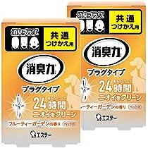 【まとめ買い】 消臭力 プラグタイプ 消臭芳香剤 部屋 部屋用 つけかえ ペット用フルーティーガーデンの香り 20ml×2個