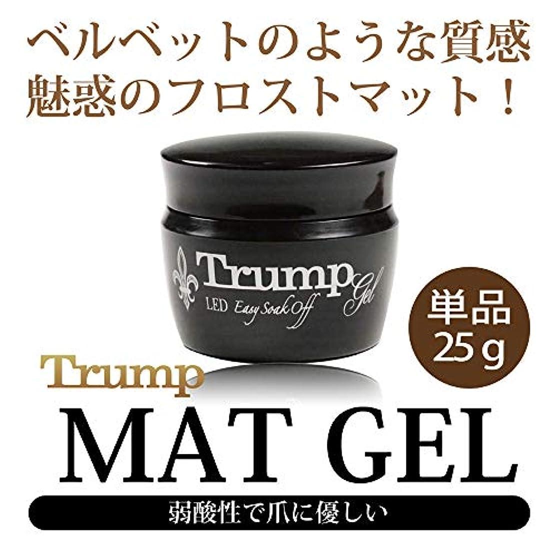 全体伝染性擁するTrump マットコートジェル 25g