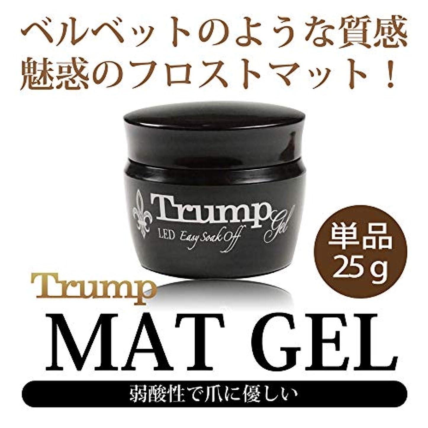り普通の傷跡Trump マットコートジェル 25g