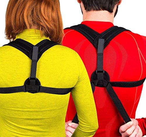 voocye 猫背 矯正 ベルト 背筋矯正ベルト 姿勢改善 サポーター 男性女性用
