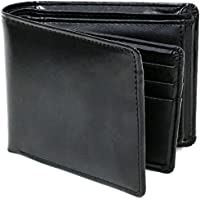 [エムアールユー] 財布 二つ折り財布 革 牛革 ボックス型小銭入れ ベラ付 多カード収納 ビジネス メンズ