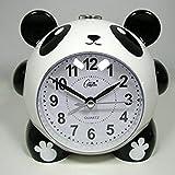 Oscar-papa(オスカーパパ)目覚まし時計 置時計 パンダ 電子ベル メロディー ライト付き 日本語使用説明書付き