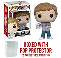 Funko POP 。Movies : Scott Pilgrim Vs The World – Scott Pilgrim Vinyl Figure (バンドルwith Popボックスプロテクターケース)
