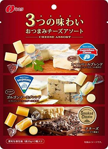 なとり おつまみチーズアソート 60g