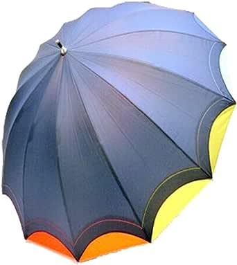 レインボー 虹 グ ッズ 傘 14本骨 カラフル 14色 55cm ジャンプ傘