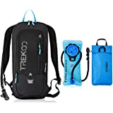 TREKOO Biking Backpack with 2L Water Bladder for Camping Hiking Running Cycling Hunting Climbing