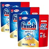 【まとめ買い】 3個セット フィニッシュ 食洗機用洗剤 タブレット パワーキューブ ビッグパック (150回分)