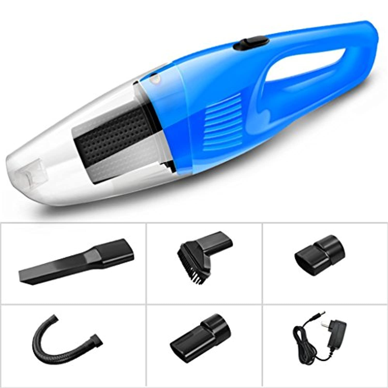 車の掃除機ワイヤレスカーハイパワーカーパワー専用家庭用車のデュアルユースミニ小型充電35 * 9.5 * 10センチメートル