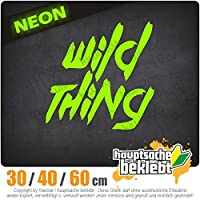 KIWISTAR - Wild Thing - Girl - Tussi 15色 - ネオン+クロム! ステッカービニールオートバイ