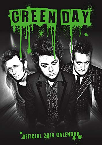 Green Day Official 2019 Calendar - A3 Wall Calendar Format