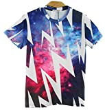 1stモール 【 16種類 4サイズ 】 3D プリント アート Tシャツ 前衛芸術 美術 クレイジー おもしろ Mサイズ 【 タイプ03 】 ST-ARTTT-03-M