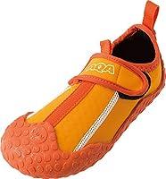 AQA(エーキューエー) スノーケリングシューズ キッズ KW-4473N オレンジ 18cm