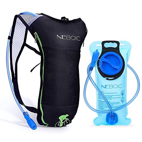 ハイドレーションパック 防水 軽量 2L給水袋広口付き 防災 水分補給 ハイドレーションバックパック 登山 ランニング リュック バッグ 自転車 サイクリング 5L大容量