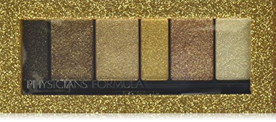 自己南西虹フィジシャンズフォーミュラ シマーストリプス アイシャドウ&ライナー Gold Nude (3.4g)