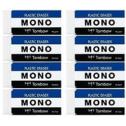 トンボ鉛筆 消しゴム MONO PE04 8個 JCA-811AZ