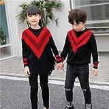セーター 親子 ブルニット キッズ 男の子 厚手 長袖 韓国子供服