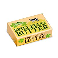 Wooden Play Food - Pretend Play Grocery Shop - Butter Portion By Erzi