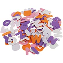 MagiDeal 150 Piece A-Z Alphabet Letters Self Adhesive Foam Stickers for Scrapbooking Craft